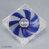 Akasa Smart&Cool 120x120x25mm 500-1500 U/min 18-25 dB(A) blau/transparent