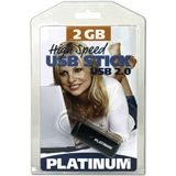 2 GB Platinum HighSpeed grau USB 2.0