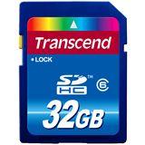 32 GB Transcend Standard SDHC Class 6 Retail