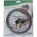InLine Vielseitiges Sicherheitsschloss, , mit Schlüssel, 6mm x