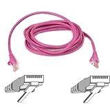(€0,98*/1m) 5.00m InLine Cat. 5e Patchkabel SF/UTP RJ45 Stecker auf RJ45 Stecker Pink
