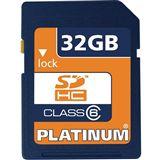 32 GB Platinum BestMedia SDHC Class 6 Retail