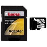 8 GB Hama Standard microSDHC Class 2 Retail inkl. Adapter