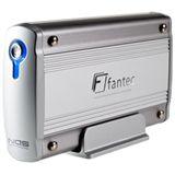 "3,5"" (8,89cm) Fantec LD-H35NSU-2 SATA -> USB/LAN Aluminium"