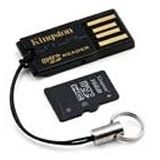 2 GB Kingston Standard microSD Class 2 Retail inkl. Adapter