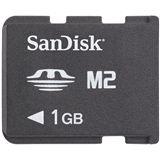 1GB SanDisk SDMSM2-1024-E10 Semory Stick MS Karte