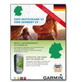 Garmin SD/microSD DVD Topo Deutschland Süd V3