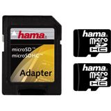 4GB Hama Secure Digital 00094131 Doppelpack microSDHC Karte