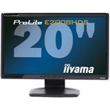 "20"" (50,80cm) Iiyama ProLite E2008HDS-B1 Schwarz 1600x900"