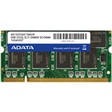 512MB ADATA Value DDR-333 SO-DIMM CL2.5 Single