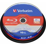 Verbatim BD-RE 25 GB 10er Spindel (43694)