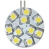Delock Lighting 10x SMD mit Pins seitlich Warmweiß G4 A