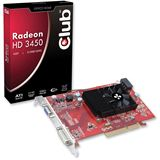 512MB Club 3D Radeon HD 3450 Aktiv AGP (Retail)