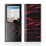 Belkin Silikonhülle iPod nano 4G schw.-rot