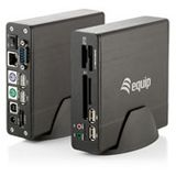 Equip Docking Station USB 2.0 / LAN / eSata / PS/2