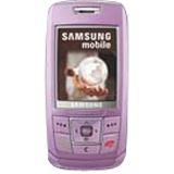 Samsung SGH-E250i lilac-violet