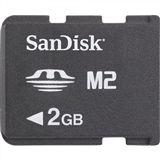 2 GB SanDisk M2 Memory Stick Micro Bulk