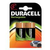 Duracell Recharge Ultra HR14 Nickel-Metall-Hydrid C Baby Akku 3000
