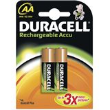 Duracell Akkus HR6 Nickel-Metall-Hydrid 1700 mAh 2er Pack