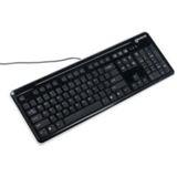 Revoltec K104 Tastatur Schwarz Deutsch USB