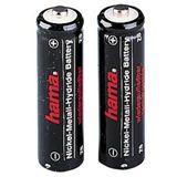 Hama Akkus AAA / Micro Nickel-Metall-Hydrid 500 mAh 2er Pack