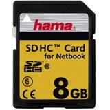 8 GB Hama High Speed SDHC Class 6 Bulk