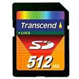 512MB Transcend TS512MSDC Secure Digital SD Karte