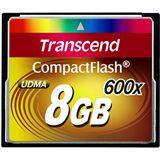 8 GB Transcend Standard Compact Flash TypI 600x Bulk