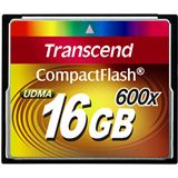 16 GB Transcend Standard Compact Flash TypI 600x Retail