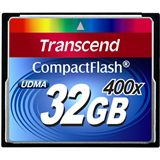 32 GB Transcend Standard Compact Flash TypI 400x Retail
