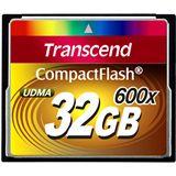 32 GB Transcend Standard Compact Flash TypI 600x Bulk