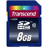 8 GB Transcend Ultimate SDHC Class 10 Bulk