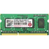 1GB Transcend Value DDR3-1066 SO-DIMM CL7 Single