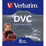 Verbatim Mini-DVC 60Min. 5er Pack