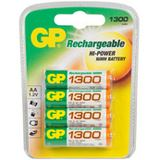 GP Batteries ReCyko+ HR6 Nickel-Metall-Hydrid AA Mignon Akku 1300 mAh