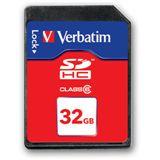 32 GB Verbatim Standard SDHC Class 6 Bulk
