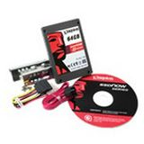 "64GB Kingston V Series 2.5"" (6.4cm) SATA 3Gb/s MLC asynchron"