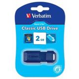 2 GB Verbatim Classic blau USB 2.0