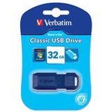 32 GB Verbatim Classic blau USB 2.0