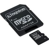 16 GB Kingston Standard microSDHC Class 10 Retail inkl. Adapter