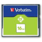 16 GB Verbatim Standard Compact Flash TypI 20x Bulk