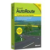 Microsoft Autoroute Euro 2010 D Mini BOX
