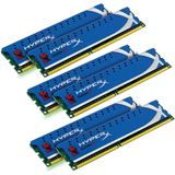 12GB Kingston HyperX DDR3-1600 DIMM CL9 Hex Kit