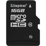 16 GB Kingston Standard microSDHC Class 10 Retail