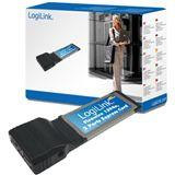 LogiLink Schnittstelle Express Card 2x IEEE1394