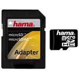 16 GB Hama Standard microSD Class 2 Retail inkl. Adapter