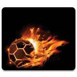 Manhattan Mauspad 423038 Feuer Fußball Design
