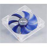Akasa Quiet White 140x140x25mm 1200 U/min 22.8 dB(A) blau/transparent