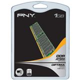 1GB PNY Value DDR2-400 DIMM CL3 Single