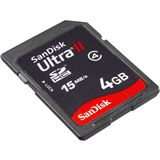 4GB SanDisk SDSDH-4096-902 Ultra II Secure Digital SDHC Karte